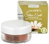 Aubrey Organics - Silken Earth Powder Blush Bronzed Earth - 3 Grams - $9.19