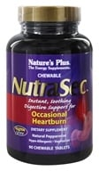 Image of Nature's Plus - NutraSec with Gastro-Block Peppermint - 90 Chewable Tablets