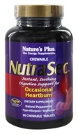 Nature's Plus - NutraSec with Gastro-Block Peppermint - 90 Chewable Tablets - $14.21