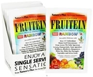Image of Nature's Plus - Fruitein Vegetarian Shake Rainbow - 1 Packet CLEARANCE PRICED