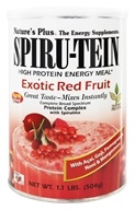 Nature's Plus - Spiru-Tein High Protein Energy Meal Exotic Red Fruit - 1.1 lbs., from category: Health Foods