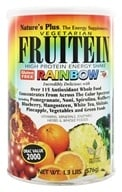 Nature's Plus - Fruitein Vegetarian Shake Rainbow - 1.3 lbs., from category: Health Foods