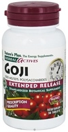 Nature's Plus - Herbal Actives Extended Release Goji 1000 mg. - 30 Vegetarian Tablets - $8.66