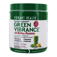 Vibrant Health - Green Vibrance Version 14.3 Daily Superfood - 6.4 oz., from category: Nutritional Supplements