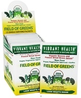 Vibrant Health - Field of Greens Raw Food (15 x 7.1 g) Packets - 3.76 oz.