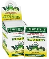 Vibrant Health - Field of Greens Raw Food (15 x 7.1 g) Packets - 3.76 oz., from category: Nutritional Supplements