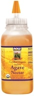 NOW Foods - Amber Agave Nectar Certified Organic - 17 oz. (733739069085)