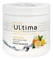 Image of Ultima Health Products - Ultima Replenisher Drink 30 Servings Lemonade - 4.6 oz.