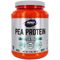 NOW Foods - Pea Protein 100% Pure Non-GMO Vegetable Protein Unflavored - 2 lbs. by NOW Foods
