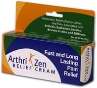 RZN Nutraceuticals - Arthri Zen Relief Cream - 3 oz., from category: Personal Care
