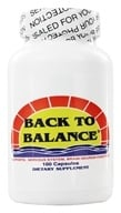 Image of Fountain of Youth Technologies - Back to Balance Brain Food - 100 Capsules
