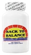 Fountain of Youth Technologies - Back to Balance Brain Food - 100 Capsules, from category: Nutritional Supplements