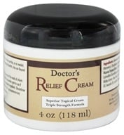 Fountain of Youth Technologies - Doctor's Relief Cream Triple Strength Formula - 4 oz. formerly Doctor's Fibromyalgia Cream by Fountain of Youth Technologies