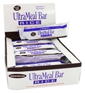 Metagenics - UltraMeal Bar RICE Chocolate Fudge - 12 Bars, from category: Professional Supplements