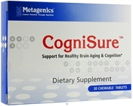 Metagenics - CogniSure Chocolate - 30 Chewable Tablets by Metagenics
