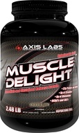 Axis Labs - Muscle Delight Protein Powder Chocolate - 2.48 lbs. by Axis Labs