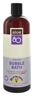 Lily Of The Desert - Aloe 80 Organics Bubble Bath - 16 oz.