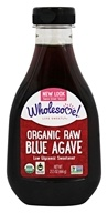 Image of Wholesome Sweeteners - Organic Raw Blue Agave - 23.5 oz.