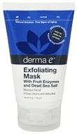 Derma-E - Exfoliating Mask with Fruit Enzymes and Dead Sea Salt - 4 oz.