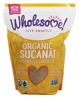 Wholesome Sweeteners - Organic Sucanat - 2 lbs. - $7.87