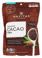 Navitas Naturals - Cacao Raw Chocolate Nibs Certified Organic - 16 oz.