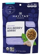 Navitas Naturals - Mulberry Berries Certified Organic - 8 oz., from category: Health Foods