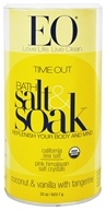 EO Products - Bath Salts Time Out Vanilla & Coconut with Tangerine - 22 oz.