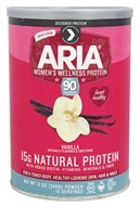 Designer Protein - Designer Whey Aria Women's Protein Vanilla - 12 oz., from category: Sports Nutrition
