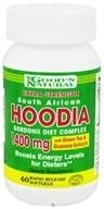 Good 'N Natural - South African Hoodia Gordonii Diet Complex Extra Strength 1400 mg. - 60 Softgels - $10.45