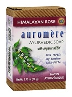 Image of Auromere - Ayurvedic Bar Soap Himalayan Rose - 2.75 oz.