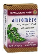 Auromere - Ayurvedic Bar Soap Himalayan Rose - 2.75 oz. by Auromere