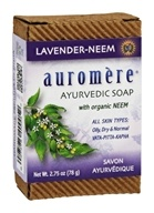Auromere - Ayurvedic Bar Soap Lavender-Neem - 2.75 oz., from category: Personal Care