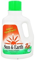 Sun & Earth - Laundry Detergent 2x Concentrated Light Citrus Scent (26 Loads) - 50 oz. by Sun & Earth