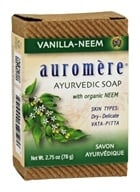 Auromere - Ayurvedic Bar Soap with Organic Neem Vanilla-Neem - 2.75 oz.