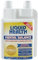Liquid Health - Mental Balance - 32 oz. (765462010362)