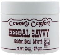 Country Comfort Herbals - Herbal Savvy Golden Seal-Myrrh - 2 oz.