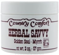 Country Comfort Herbals - Herbal Savvy Golden Seal-Myrrh - 2 oz. - $6.06