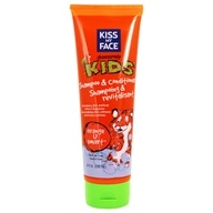 Image of Kiss My Face - Kids Shampoo & Conditioner Orange U Smart - 8 oz.