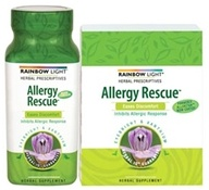 Rainbow Light - Allergy Rescue - 30 Tablets