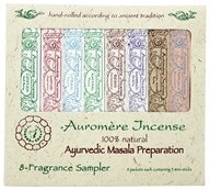 Auromere - Ayurvedic Incense 8 Fragrance Sampler - 8 Packet(s), from category: Aromatherapy