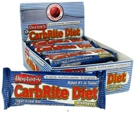 Image of Universal Nutrition - Doctor's CarbRite Diet Bar Blueberry Cheesecake - 2 oz.