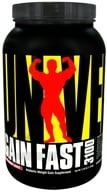 Universal Nutrition - Gain Fast 3100 Strawberry Shake - 2.55 lbs.