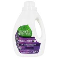 Seventh Generation - 2x Liquid Laundry Detergent Blue Eucalyptus & Lavender - 50 oz.
