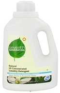 Image of Seventh Generation - 2x Liquid Laundry Detergent White Flower & Bergamot Citrus - 50 oz.