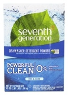 Seventh Generation - Automatic Dishwasher Powder Free & Clear - 45 oz. - $5.57