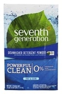 Seventh Generation - Automatic Dishwasher Powder Free & Clear - 75 oz. (732913221516)