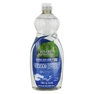 Image of Seventh Generation - Dish Washing Liquid Free & Clear - 25 oz.