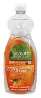 Image of Seventh Generation - Dish Washing Liquid Lemon Grass & Clemintine Zest - 25 oz.