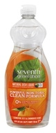 Seventh Generation - Dish Washing Liquid Lemon Grass & Clemintine Zest - 25 oz. (732913227327)