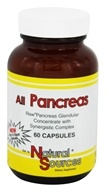 All Pancreas - 60 Capsules by Natural Sources